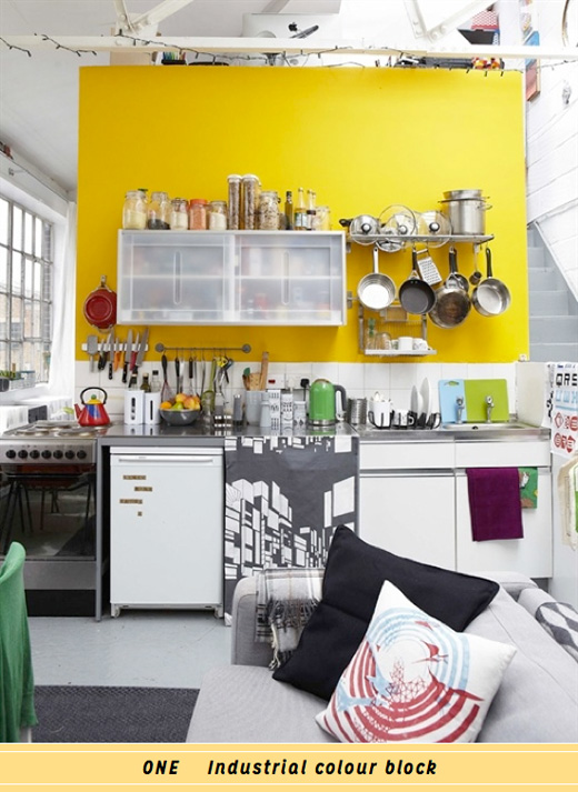 yellow-kitchen-industrial
